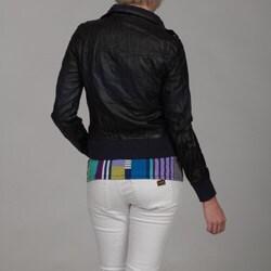 Brave Soul Women's 'Dip Dye' Ribbed Jacket