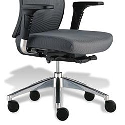 J & K Grey Professional Office Chair