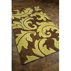 Hand-tufted Wool Rug (9' 6 x 13' 6)