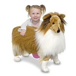Melissa & Doug Plush Shetland Sheepdog Stuffed Animal