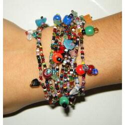 Luzy Multicolor Crystal Bracelet (Guatemala)