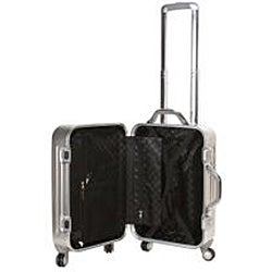 Rockland 21-Inch Hi-Tech Aluminum Carry-On Spinner Upright With TSA Locks