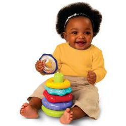 Bright Starts Rattle n' Stack Activity Toy