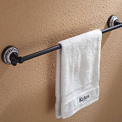 Kraus Apollo Oil Rubbed Bronze Towel Bar Bathroom Accessory