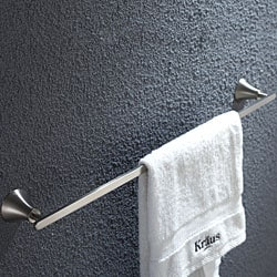 Kraus Amnis Brushed Nickel Towel Bar 600mm