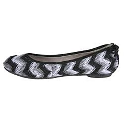 Refresh by Beston Women's 'PAM-07' Bohemian Ballet Flats