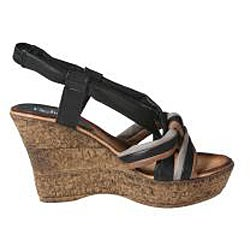 Refresh by Beston Women's 'CABY-05' Sling-back Wedge Sandals