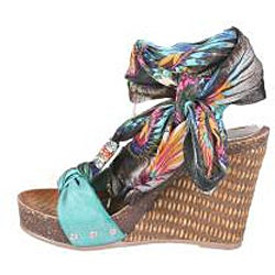 Refresh by Beston Women's 'Shania-01' Platform Wedge Sandals