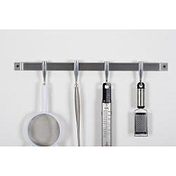 Concept Housewares Stainless Steel Cookware Wall Rack