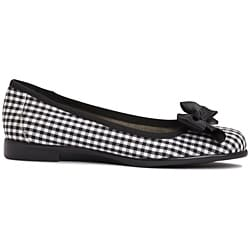 A2 by Aerosoles Women's 'Becomend' Checkered Ballet Flats