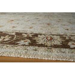 Hand-tufted Goa Brown Wool Rug (8' x 10')