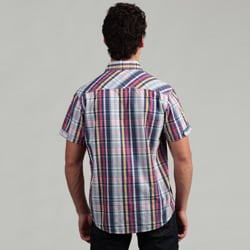 The Fresh Brand Men's Plaid Woven Shirt