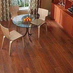 Easy Install 12mm Single-Strip Royal Mahogany Laminate Flooring (81.10 SF)