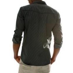 191 Unlimited Men's Black Scorpion Print Shirt