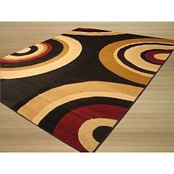 Venus Black/ Red Rug (8'2 x 9'10)