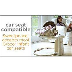 Graco Sweet Peace Swing in Vance