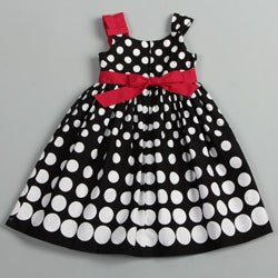 Donita Girl's Polka Dots Dress