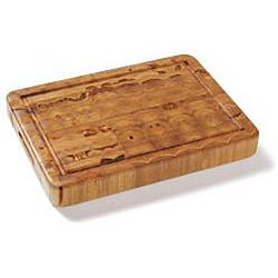 Proteak 309 Teak Rectangle Cutting Board with Juice Canal