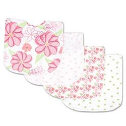 Trend Lab Bib and Cloth Set in Hula Baby