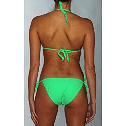 Island World Junior's Green Two-piece Bikini Swimsuit