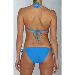Island World Junior's Blue Bikini Swimsuit