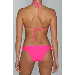 Island World Junior's Pink Bikini Swimsuit