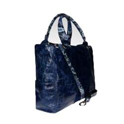 Vintage Reign 'Mimi' Ocean Blue Tote Handbag