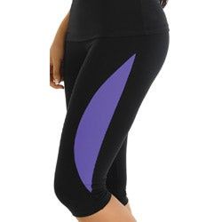 Fajate Women's Sports Support Capri Leggings