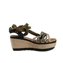 Jacobies by Beston Women's 'Happy-10' Platform Espadrilles