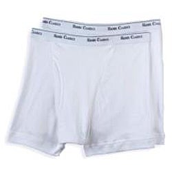 Hanes Men's White Boxer Briefs (Pack of 2)