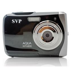 SVP WP6800 18MP Black Waterproof Camera with 16GB Micro SD