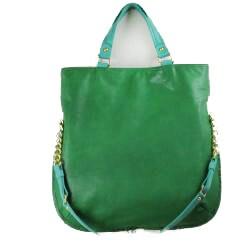 Danielle Nicole 'Carmen' Green and Teal Tote Bag