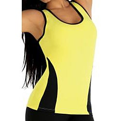 Fajate Women's 'Tierra' Racer Back Fitness Tank Top