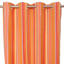Sunbrella Bay View Dolce Mango Outdoor Curtain Panel