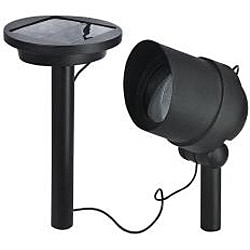 Paradise Aluminum Solar Power Flood Light (Set of 2)