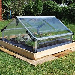 Palram Cold Frame Double 3' x 3' Mini Greenhouse