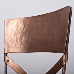 Set of Two Jabalpur Dining Chair Copper (India)