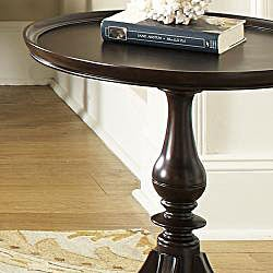 Morley Round End Table/ Lamp Table