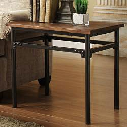 Myra Burnished Wood Industrial Rustic 3-piece Occasional Set