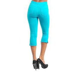 Stanzino Women's Emerald Capri Pants