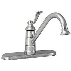Price Pfister Portland Single Handle Chrome Kitchen Faucet
