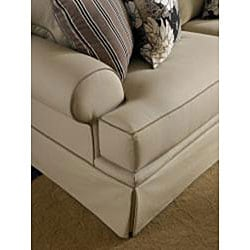 Broyhill Emma II Khaki Queen Sofa Sleeper
