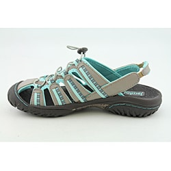 Jambu Women's Coastline Gray Sandals