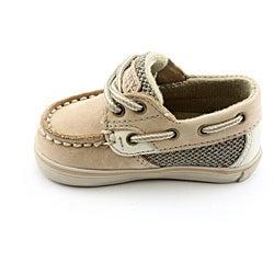 Sperry Top Sider Boy's Bluefish Prewalker Beige Casual Shoes