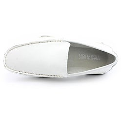 Kenneth Cole Reaction Men's World Hold On White Casual Shoes