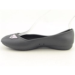 Crocs Women's Lenora Gray Casual Shoes (Size 4)
