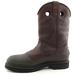 Georgia Men's G5655 Brown Boots Wide (Size 11.5)