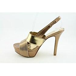 Nine West Women's Fair Game Gold Dress Shoes