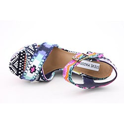 Steve Madden Women's Winonna Multi-Colored Sandals (Size 7.5)