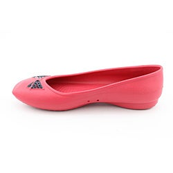 Crocs Women's Lenora Red Casual Shoes (Size 4)